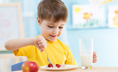 ideaal ontbijt voor kinderen