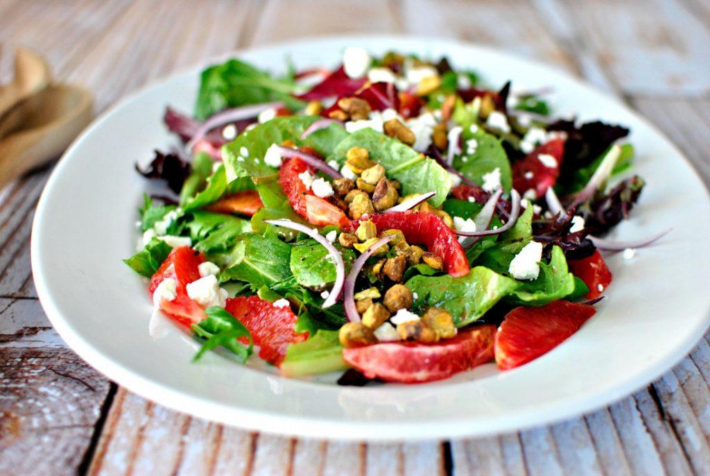 Salades, été, chaleur, alimentation, saine